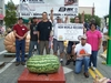 Chris Kent's new world record watermelon